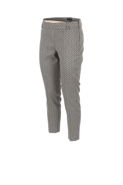 d6f67ce45e230 Pantalone Donna Kocca 40 Bianco nero Amalio. Autunno Inverno 2017 18   Amazon.co.uk  Clothing