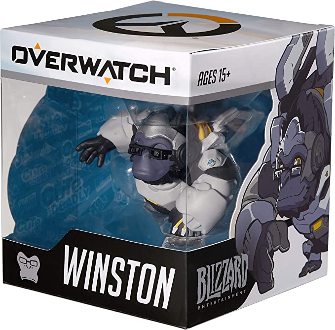 ACTIVISION Overwatch Cute but Deadly Medium Vinyl Figure Winston ...