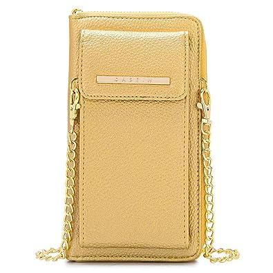 Dasein Bolso del teléfono del Monedero de la Cartera del teléfono móvil para Mujer Xl3020- Oro: Amazon.es: Zapatos y complementos