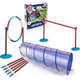American Ninja Warrior Family Agility Set - Obstacle Race Course - Great for Children, Adults and Pets - Perfect Outdoor Fun