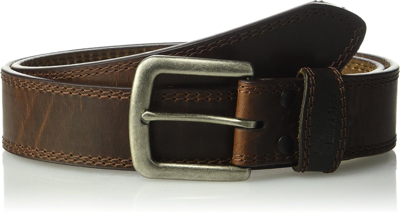 Berne Workwear Mens Sandkan Leather Belt