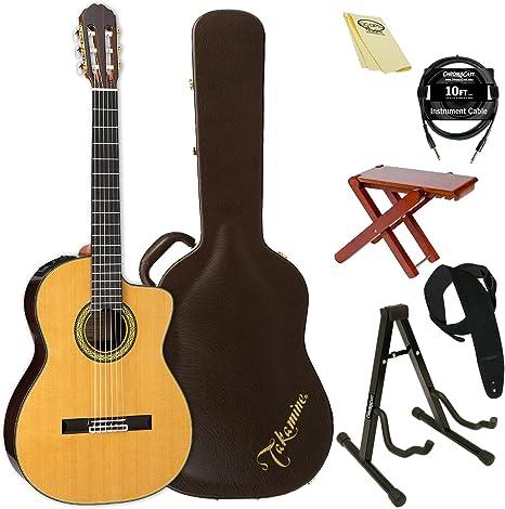 TAKAMINE th5 C-kit-2 clásica guitarra acústica con cuerdas de ...