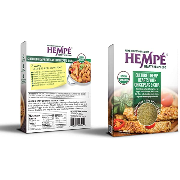 Smiling Hara, Tempeh Sweet Miso Ginger, 8 Ounce: Amazon.com ...