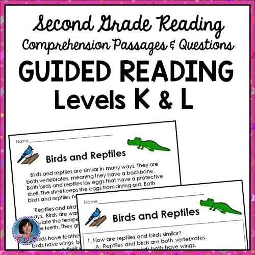 This Reading Comprehension Packet Is Designed To Help Students Who Are  Reading At Guided Reading Levels K And L (DRA Levels 20 - 24) Become  Skilled At Answering Text-based Questions. It Is Ideal For Use In Guided  Reading Groups, Centers, And Response