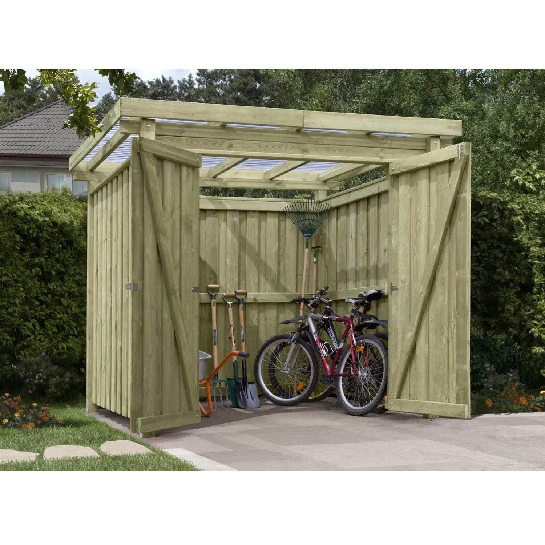 Gartenpirat Gerätehaus Holz Mit Flachdach Typ 1 Gartenhaus 254 X 206 Cm:  Amazon.de: Garten