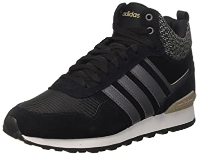 adidas Men's 10Xt WTR Mid Trainers, Black (Core BlackGrey