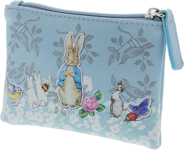 rose Original illustrstions 12.5 cm Beatrix Potter Peter Rabbit Fermeture éclair Porte-monnaie