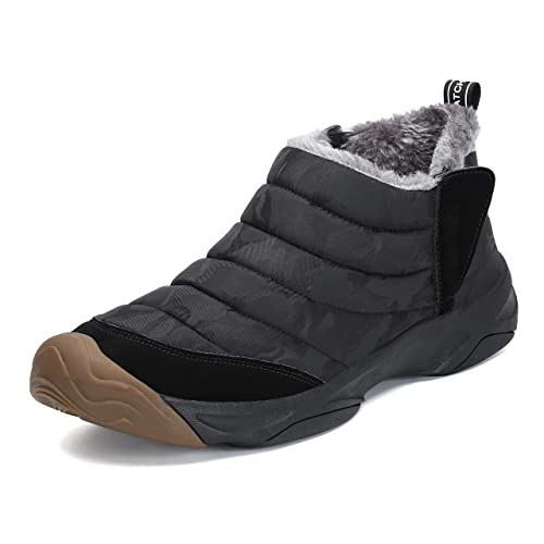 a4dd30f20 Zapatos Invierno Mujer Botas de Nieve Calientes Antideslizante Al Aire  Libre Boots para Hombre  Amazon.es  Zapatos y complementos