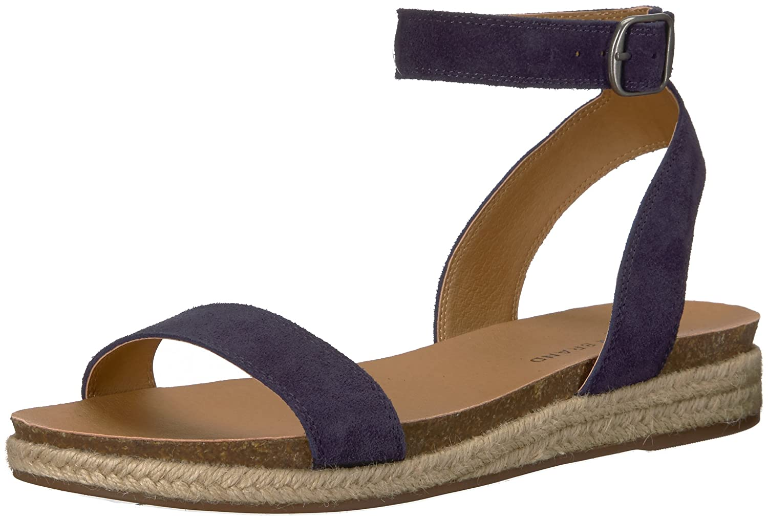 [Lucky Brand] Women's Garston Ankle-High Suede Sandal 6 B(M) US ブルー(Moroccan Blue) B077GCXZY7