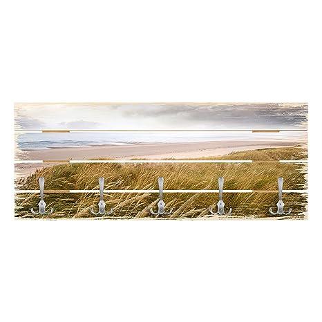 Bilderwelten Perchero de Madera - Dunes Dream - Ganchos ...