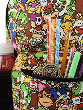 Nintendo Super Mario Brothers Boys Girls Teen 16