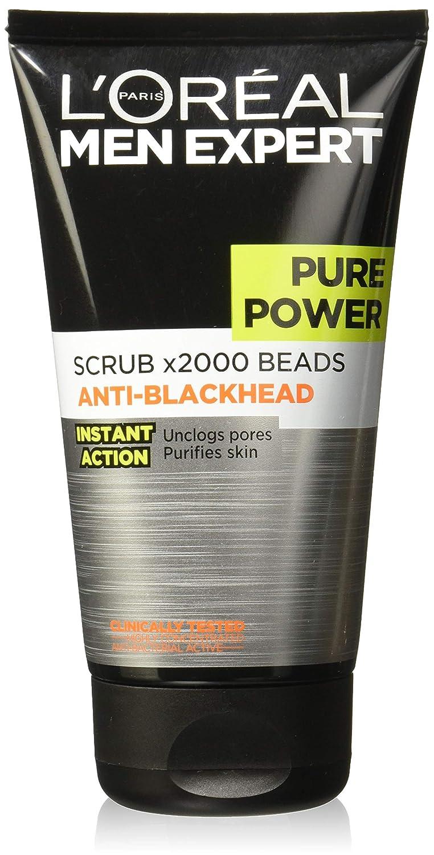 L'Oreal Men Expert Pure Power Blackhead Face Scrub 150ml L'Oreal 107182019