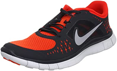 Nike Free Run 3 Mens Running Shoes 510642-801 Black 9.5 D(M)