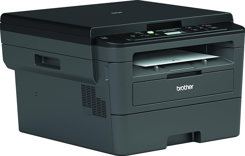Brother DCPL2530DW - Impresora multifunción láser monocromo Wifi con impresión dúplex + Brother TN-2420 Laser cartridge 3000 páginas Negro tóner y ...