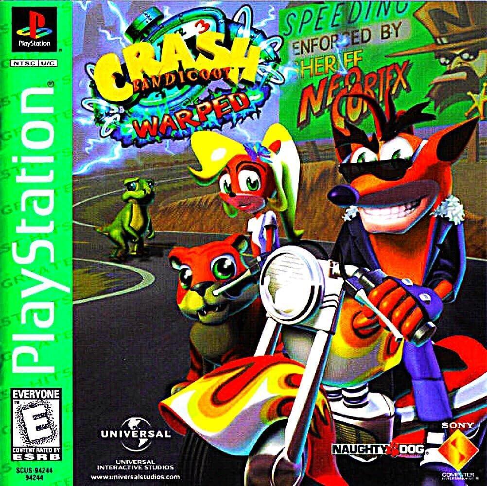 Crash Bandicoot: Warped / Game [Importación Inglesa]: Amazon.es ...