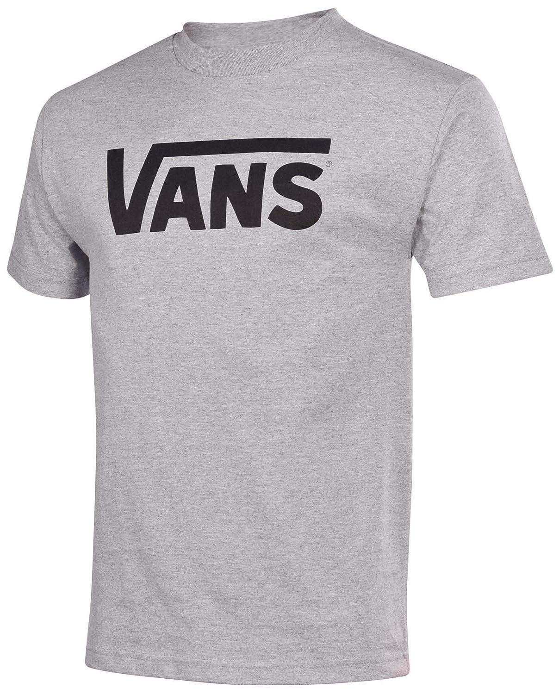 Vans Tシャツ – VansクラシックTシャツ – ブラック/ホワイト B0141LLDU4 XX-Large|Athletic grey/black Athletic grey/black XX-Large