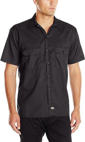Dickies - - Camisa de la flexión de la tela cruzada trabajo de los hombres: Amazon.es: Ropa y accesorios