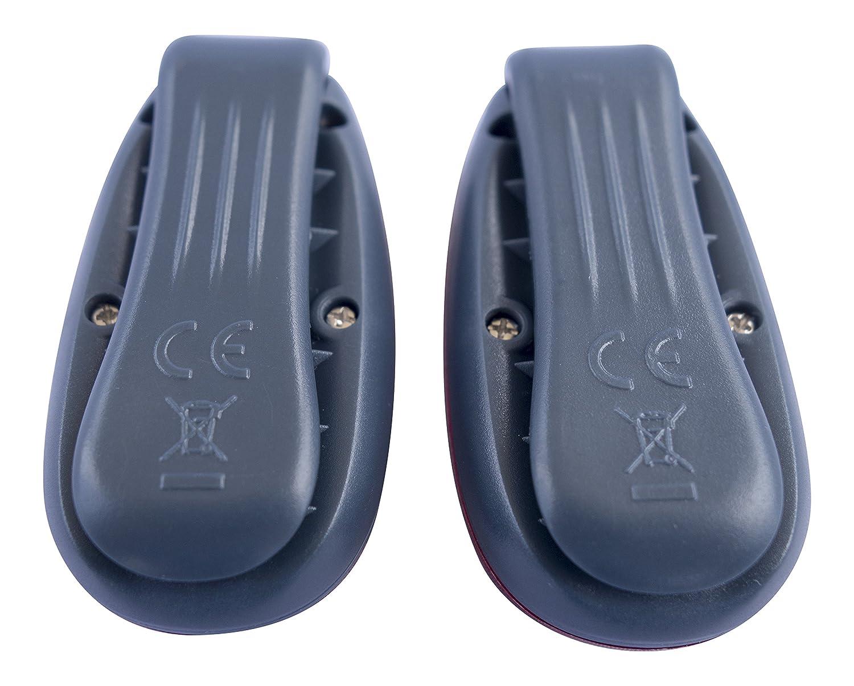 lot de 2 Attaches fournies//lumi/ères pour la course /à pied Apace Vision Lumi/ères de s/écurit/é /à LED avec cadeaux gratuits le collier du chien le v/élo la marche et bien plus encore