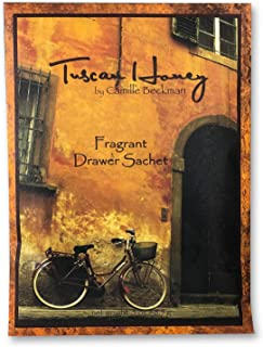 product image for Camille Beckman Premium Fragrant Drawer Sachet, Tuscan Honey, 0.3 Ounce (3 Pack)