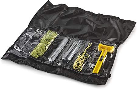 COLUMBUS Kit Set de Accesorios para Camping, Hombres, Negro ...