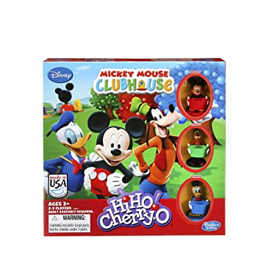 Hasbro HiHo! Cherry-O Game Disney Mickey Mouse Clubhouse Edition: Toys & Games