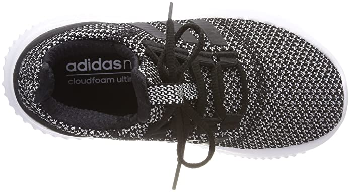 bfd2677b6514a Amazon.com | adidas NEO Cloudfoam Ultimate Junior Kids Fashion Trainer Black /White - US 4.5 | Sneakers