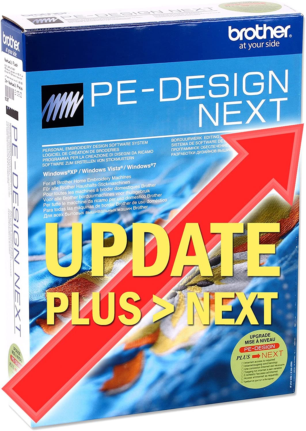 Brother Ped Pe Design Next Embroidery Software Upgrade Plus To Next Amazon Ca Home Kitchen