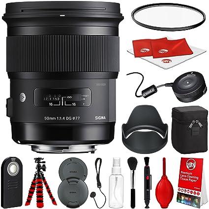 Arte Sigma 50 mm f1,4 DG HSM lente para Sony montura a cámaras ...