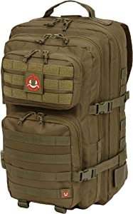 Orca Tactical Backpack 40L Large Military 1 to 3 Day Molle Assault Pack Rucksack Army Bag