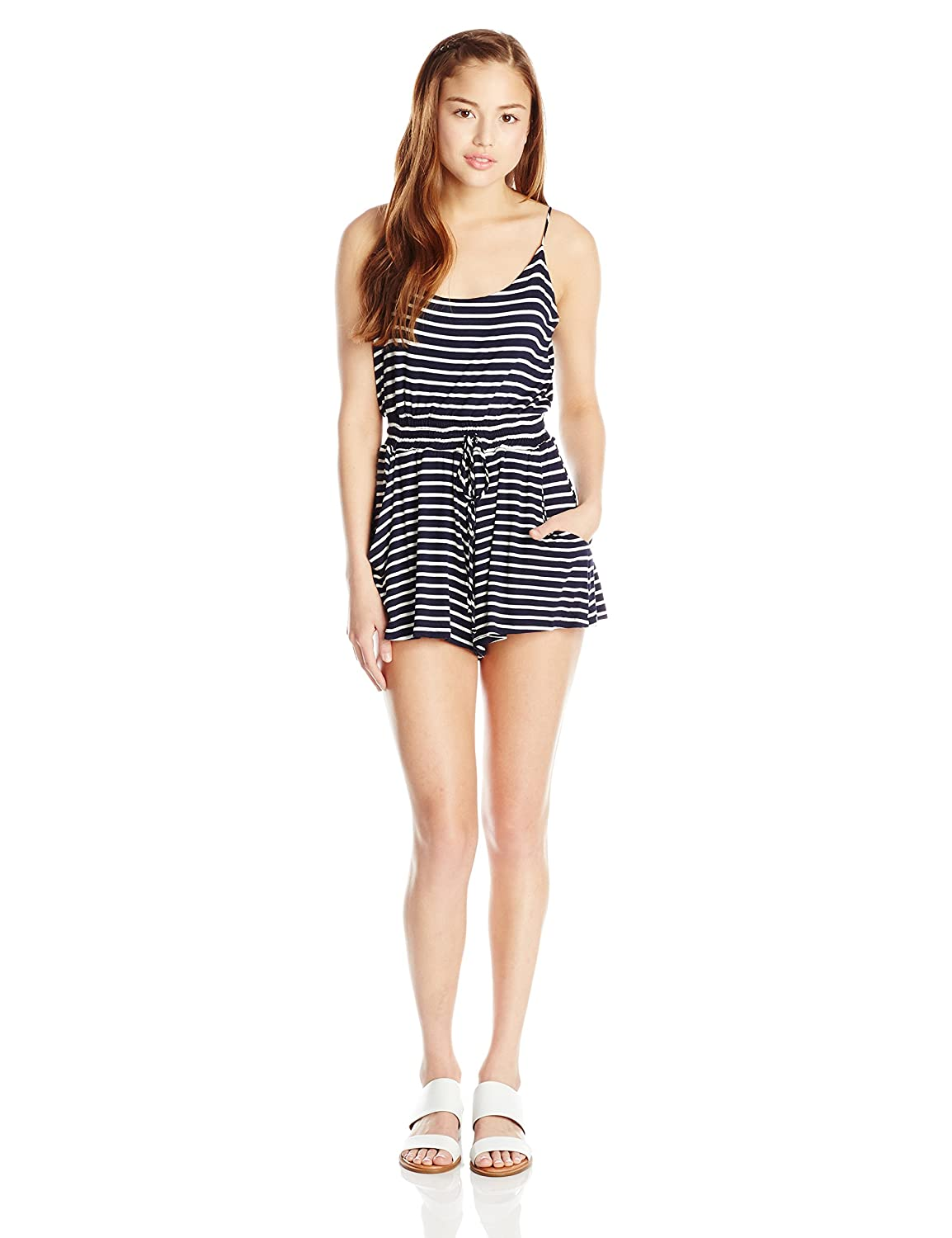 Lucy Love Junior's Stripe Riley Romper