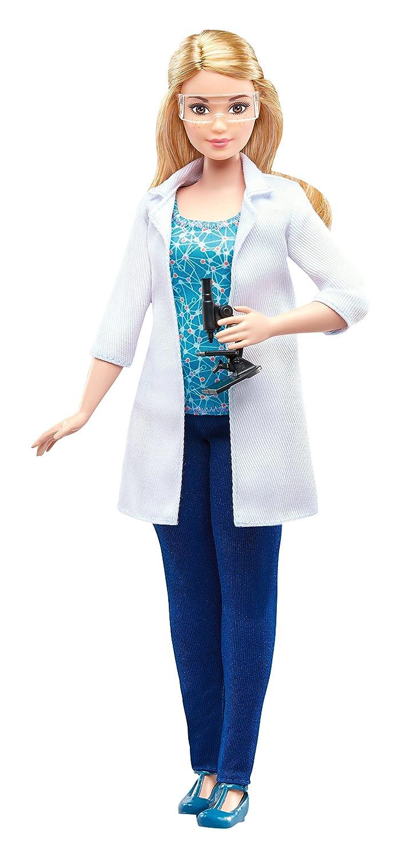 Barbie Careers Scientist Doll Fisher Price / Mattel Canada DVF60