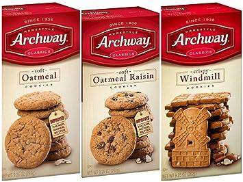 Archway Homestyle - Oatmeal suave, 0.86 oz, martillo de ...