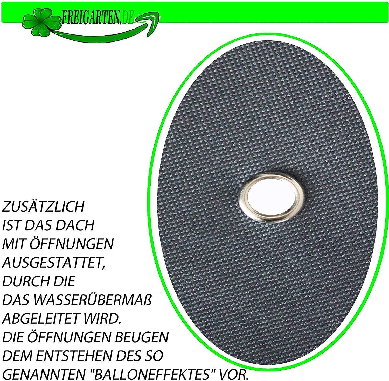 Panama PCV Soft 370 g//m2 Extra Forte Modello 6 Freartart.de Tetto di Ricambio per Gazebo 330 cm x 330 cm Sabbia Antico Gazebo Impermeabile Materiale