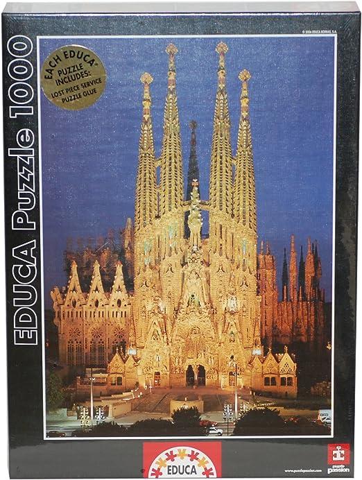 Educa 646200 - Puzzle 1000 Pzas Sagrada Familia: Amazon.es ...