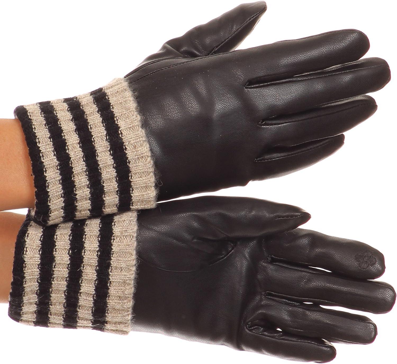 Sakkas Oda warme gestreift Wolle Manschette Winter-Touch Screen Handgelenk lange Handschuhe