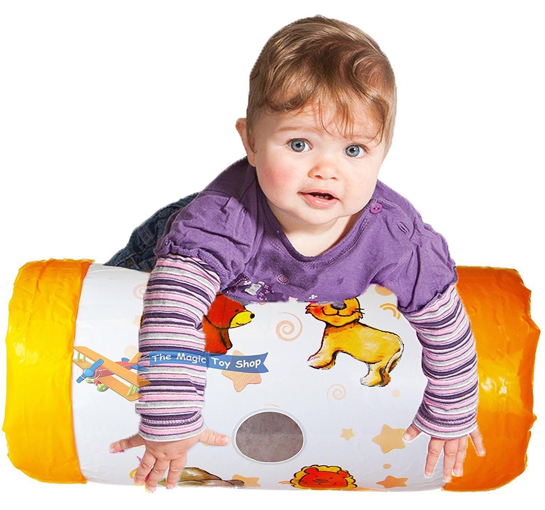 to Z rodillo inflable del bebé: Amazon.es: Juguetes y juegos