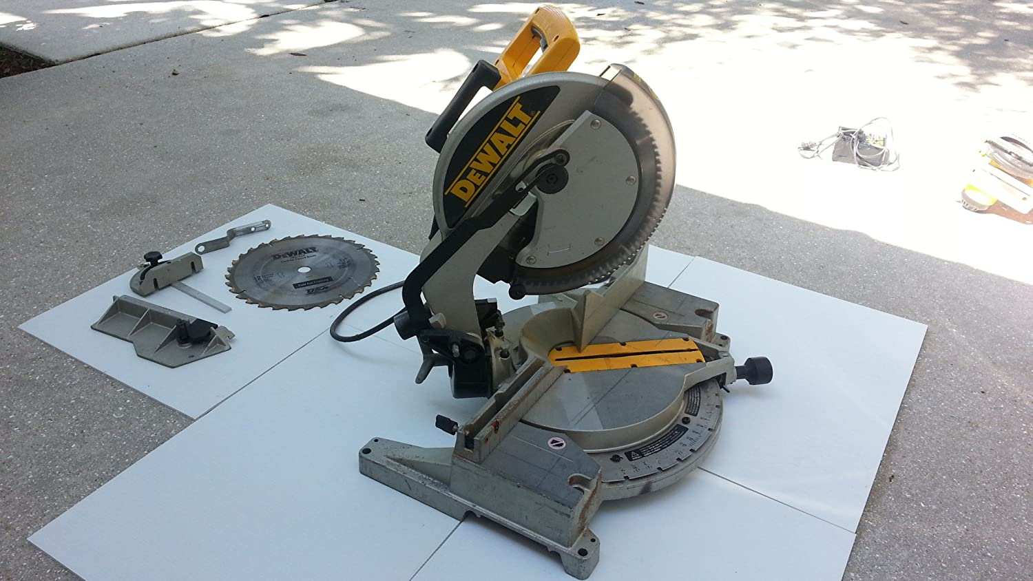 "DeWALT DW705 R 12"" Compound Miter / Chop Saw"