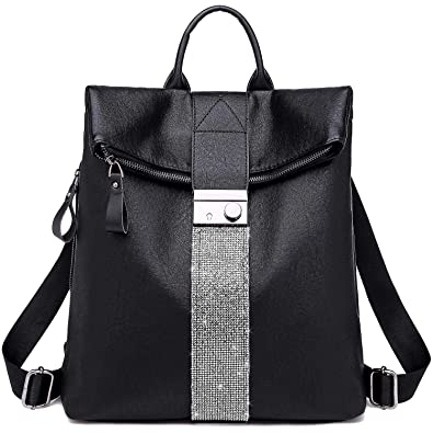 TcIFE Backpack Purse for Women Fashion School PU Leather Purse and Hangbags Shoulder  Bags 254bb28c5b