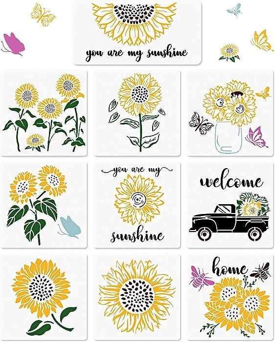 Updated 2021 – Top 10 Sunflower Furniture Stencils