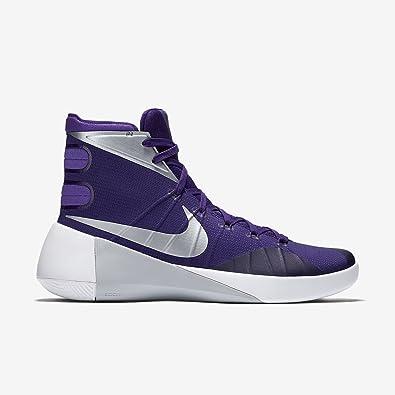 Nike Hyperdunk 2015 - Men's Court Purple/Purple Venom/White/Metallic Silver