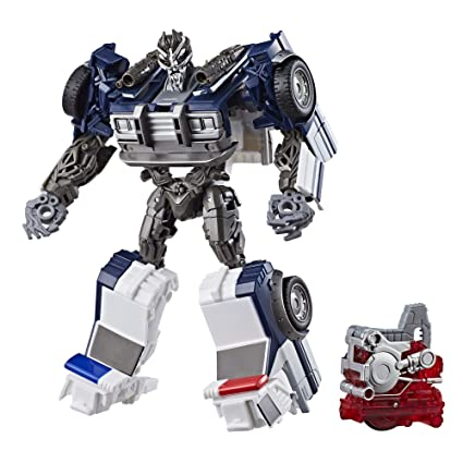 d95dedc7be7 Amazon.com: Transformers: Bumblebee -- Energon Igniters Nitro Series  Barricade: Toys & Games