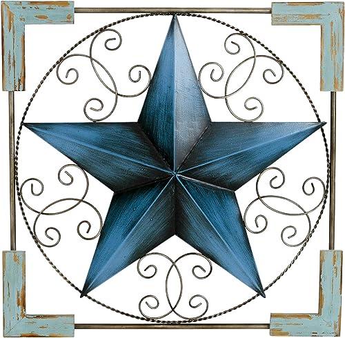 Aspire 5131 Sorani Star Wall Decor, Blue