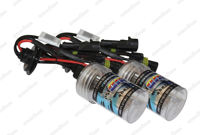 2x H1 433 D Lumina 35w 4300k For HID Kit Xenon Headlight Fog Light Bulbs Lamps