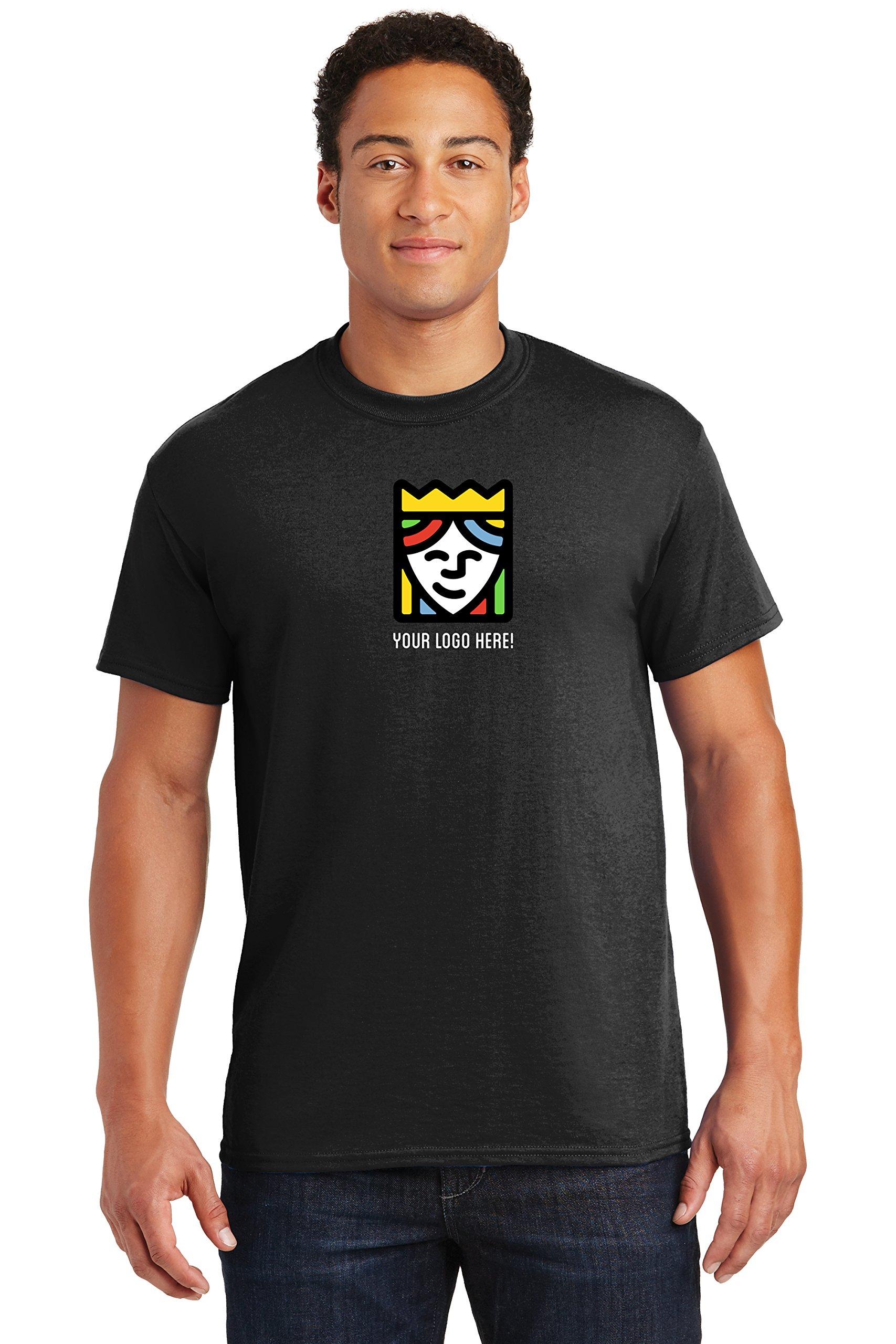 Queensboro Shirt Company Custom Printed Gildan DryBlend T-Shirts – Pack Of 25 by Queensboro Shirt Company