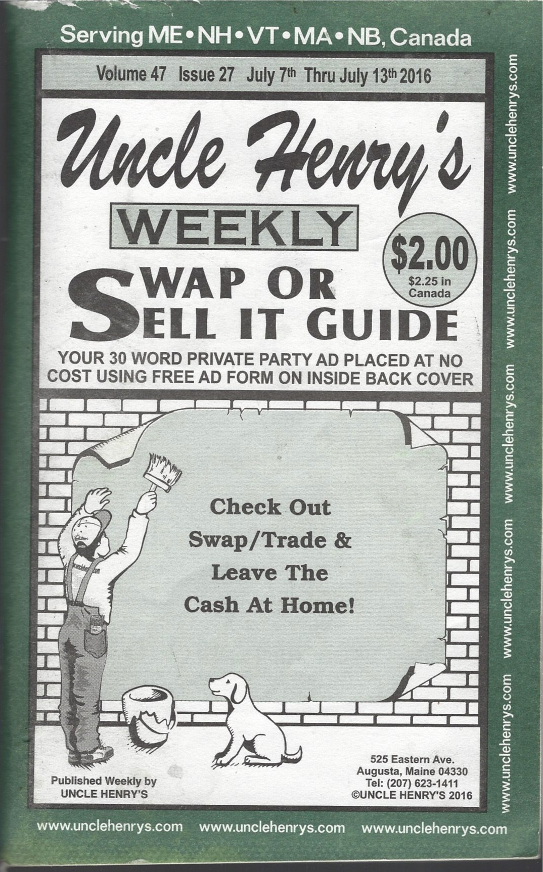 Uncle Henrys Weekly Swap Or Sell It Guide July 7th Thru July 13th