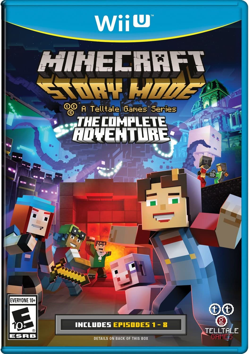download minecraft story mode pc free full episodes