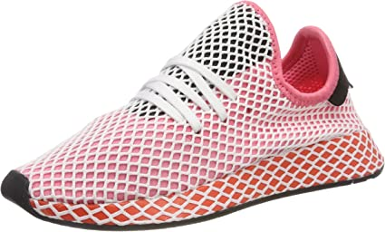 comestible Humorístico Imperial  Adidas - Deerupt Runner Women - Color: White-Pink - Size: 5.0US: Amazon.ca:  Sports & Outdoors