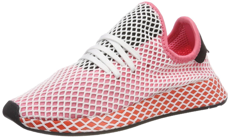 Adidas Deerupt Runner W, Zapatillas de Gimnasia para Mujer 36 EU|Rosa (Chalk Pink/Chalk Pink/Bold Orange 0)