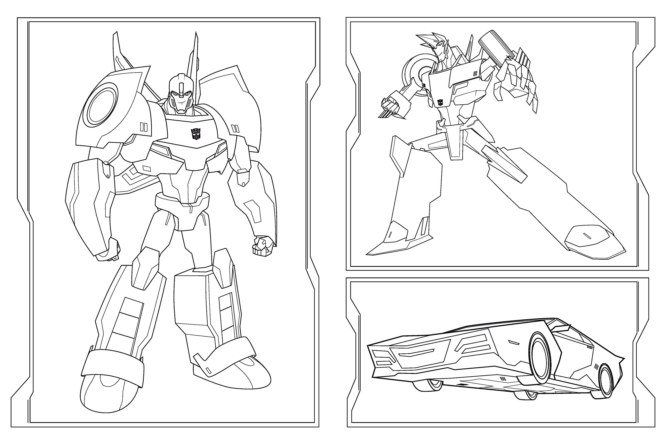 Transformers Malbuch Mit 1001 Stickern Amazonde Bã¼cher