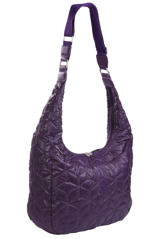 L/ässig Wickeltasche Glam Banana Bag purple